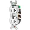 Hubbell 125-Volt 20-Amp Duplex Electrical Outlet