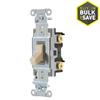 Hubbell 20-Amp Single Pole Light Switch