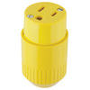Hubbell 15-Amp 125-Volt Yellow 3-Wire
