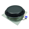 Master Flow 1,250-CFM Black Galvanized Steel Electric Power Roof Vent