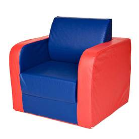 Pullout Chair (Blue/Red)