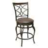 Oil Rubbed Bronze 25-in Counter Stool
