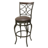 Oil Rubbed Bronze 30-in Bar Stool