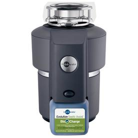 InSinkErator Evolution Septic Assist 3/4-HP Garbage Disposal with Sound Insulation