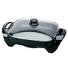 Deni 12-in L x 12-in W Non-Stick Cooking Surface Electric Skillet