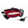 Deni 12-in L x 12-in W Non-Stick Electric Skillet