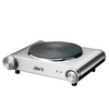 Deni 11.61-in 1-Burner Stainless Steel Table-Top Burner