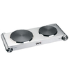 Deni 21.1-in 2-Burner Stainless Steel Table-Top Burner