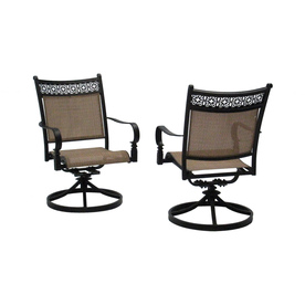 Home Remodeling  Repair on Garden Treasures Set Of 2 Potters Glen Aluminum Swivel Rocker Patio