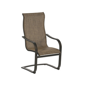 allen + roth Set of 6 Tenbrook Aluminum Patio Dining Chairs