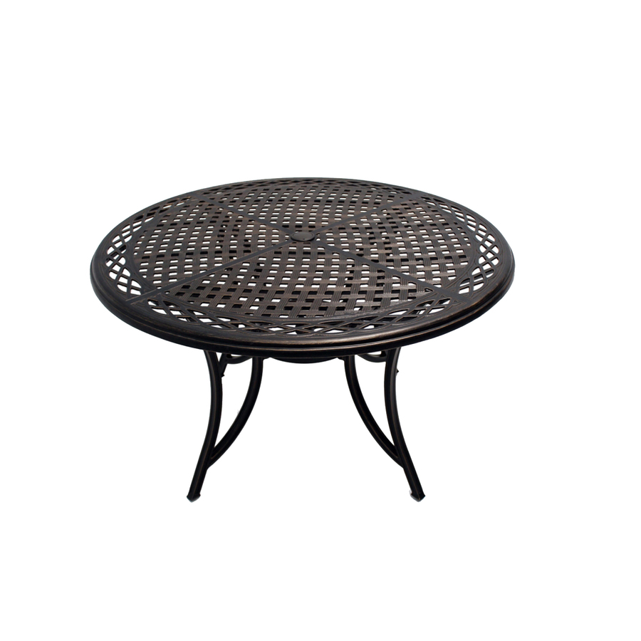 Shop Garden Treasures Crescent Cove Bronze Round Patio