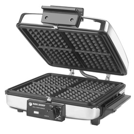 BLACK &amp; DECKER Square Extra-Large Waffle Maker