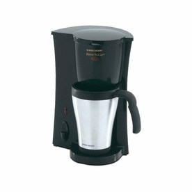 shop black decker black 2 cup coffee maker at lowes