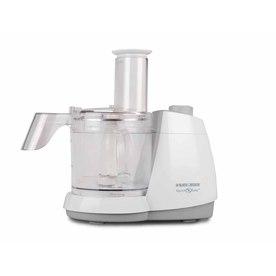 BLACK & DECKER 8-Cup 450-Watt White 1-Blade Food Processor