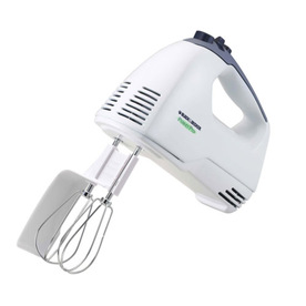 BLACK & DECKER 5-Speed White Hand Mixer MX300