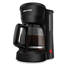 BLACK &amp; DECKER Black 5-Cup Coffee Maker