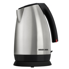 BLACK & DECKER Stainless Steel 7-Cup Electric Tea Kettle