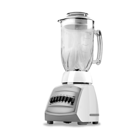 BLACK &amp; DECKER 48 oz White 12-Speed Blender