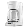 BLACK & DECKER White 12-Cup Programmable Programmable Coffee Maker