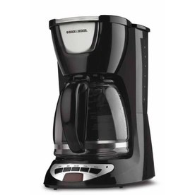 BLACK &amp; DECKER Black 12-Cup Programmable Coffee Maker