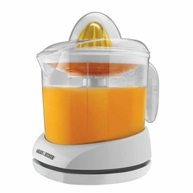 BLACK & DECKER 34 oz White Citrus Juicer