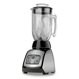 BLACK &amp; DECKER 6-Cup Stainless Steel Glass Blender