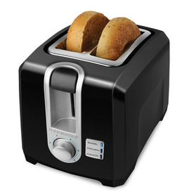 BLACK & DECKER 2-Slice Metal Toaster