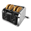 BLACK & DECKER 4-Slice Stainless Steel Toaster