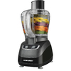 BLACK & DECKER 8-Cup 450-Watt Black 2-Blade Food Processor