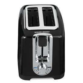 BLACK & DECKER 2-Slice Metal Toaster