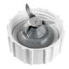 BLACK & DECKER 40-oz White 10-Speed 350-Watt Pulse Control Blender