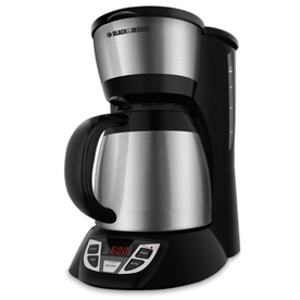 Black And Decker Coffee Maker Not Heating : Shop BLACK & DECKER Stainless Steel 8-Cup Programmable Coffee Maker at Lowes.com