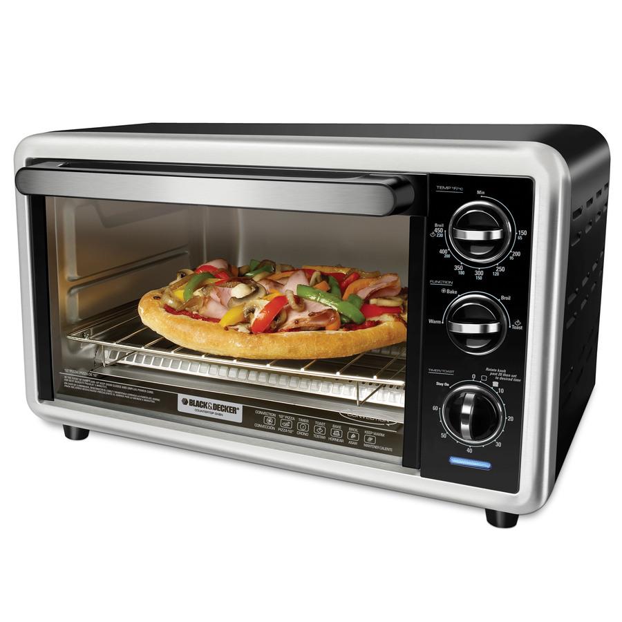 Shop BLACK & DECKER 6-Slice Convection Toaster Oven at Lowes.com
