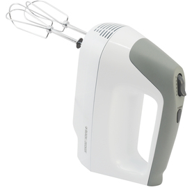 BLACK & DECKER 5-Speed White Hand Mixer MX1500W