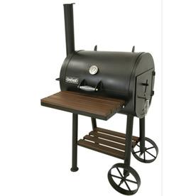Bayou Classic 432 sq in Charcoal Horizontal Smoker