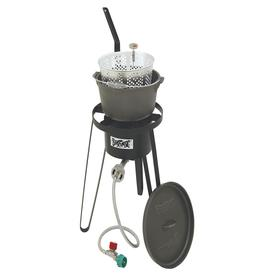 Bayou classic outdoor cast iron fish cooker for sale for Bayou classic fish fryer