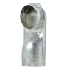 Whirlpool 5-in x 4-in Galvanized Steel Round Duct Elbow