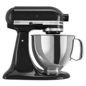 KitchenAid Artisan 5-Quart 10-Speed Onyx Black Stand Mixer