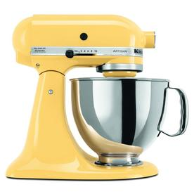 KitchenAid Artisan Series 5-Quart 10-Speed Majestic Yellow Stand Mixer