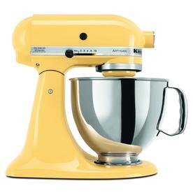 KitchenAid Artisan Series 5-Quart 10-Speed Majestic Yellow Stand Mixer