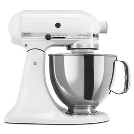 KitchenAid Artisan Series 5-Quart 10-Speed White Stand Mixer KSM150PSWH