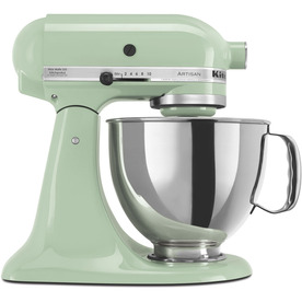 KitchenAid Artisan Series 5-Quart 10-Speed Pistachio Stand Mixer KSM150PSPT