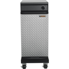 Gladiator 15-in Hammered Granite Portable Trash Compactor