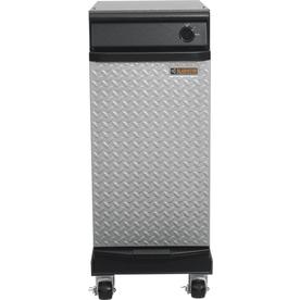 Gladiator 15-in Hammered Granite Portable Trash Compactor