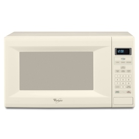 Home Whirlpool 1.5 cu ft 1200-Watt Countertop Microwave (Biscuit)