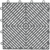 Gladiator 12-in x 12-in Silver Garage Vinyl Tile