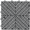 Gladiator 12-in x 12-in Charcoal Garage Vinyl Tile