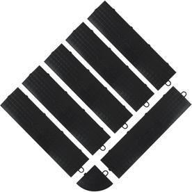 Gladiator 7-Pack Black 3-in W x 12-in L Garage Floor Edges