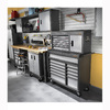 Gladiator Workbench Stool, 30 Height, Swivel Seat