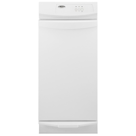 Whirlpool Gold 15-in White-on-White Undercounter Trash Compactor